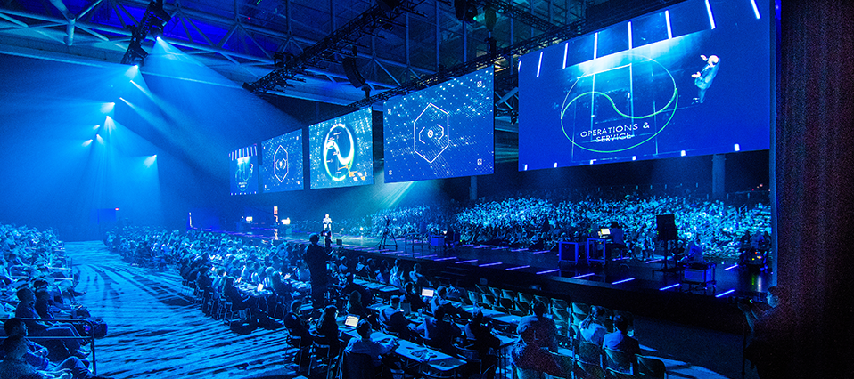OVATION Won Best Event Entertainment Act Award for LiveWorx Opening Experience